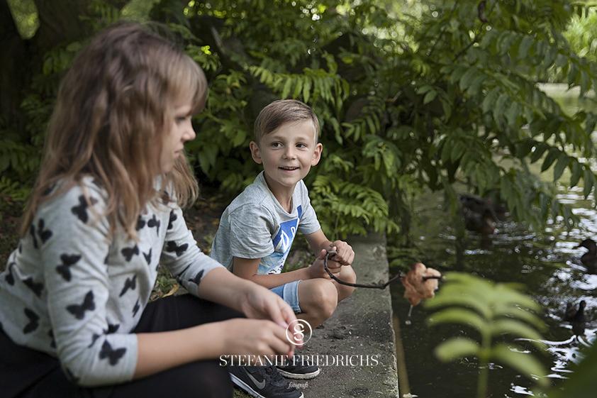 Ida, Emil og Karl Aarhus fotograf børn familie