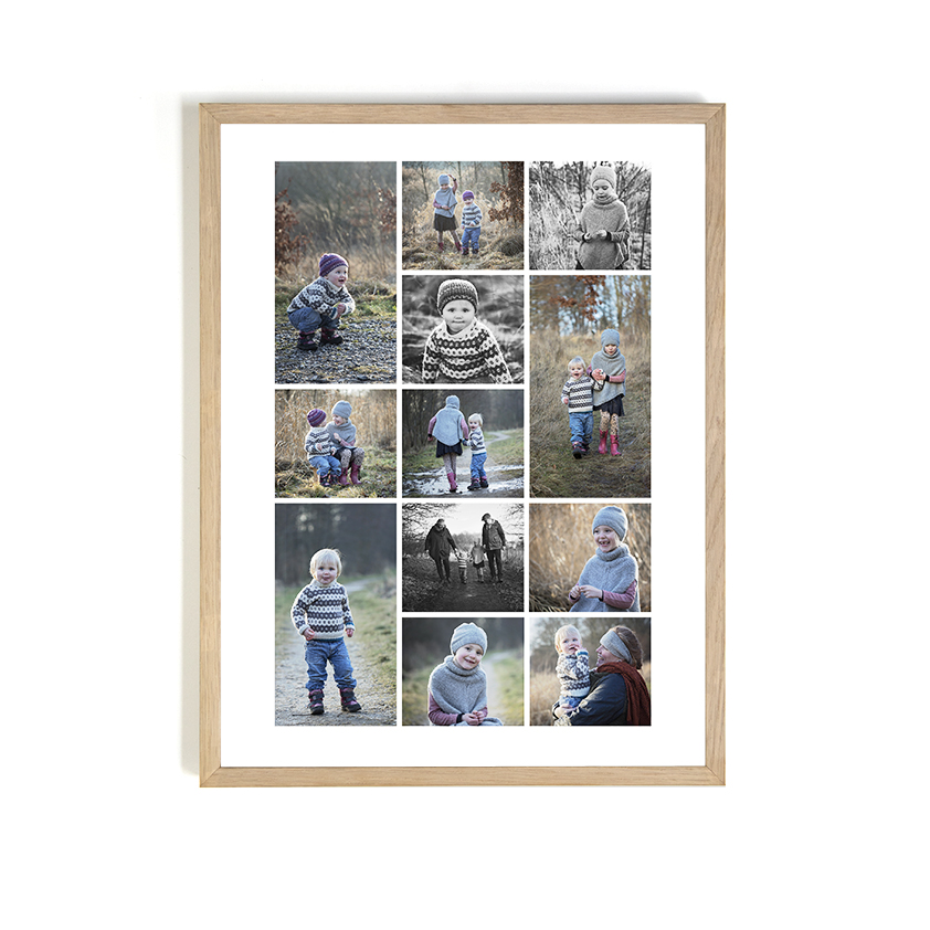 Enorm Ramme til collage i 40x60cm ⏐ Stefanie Friedrichs Fotografi NO-98