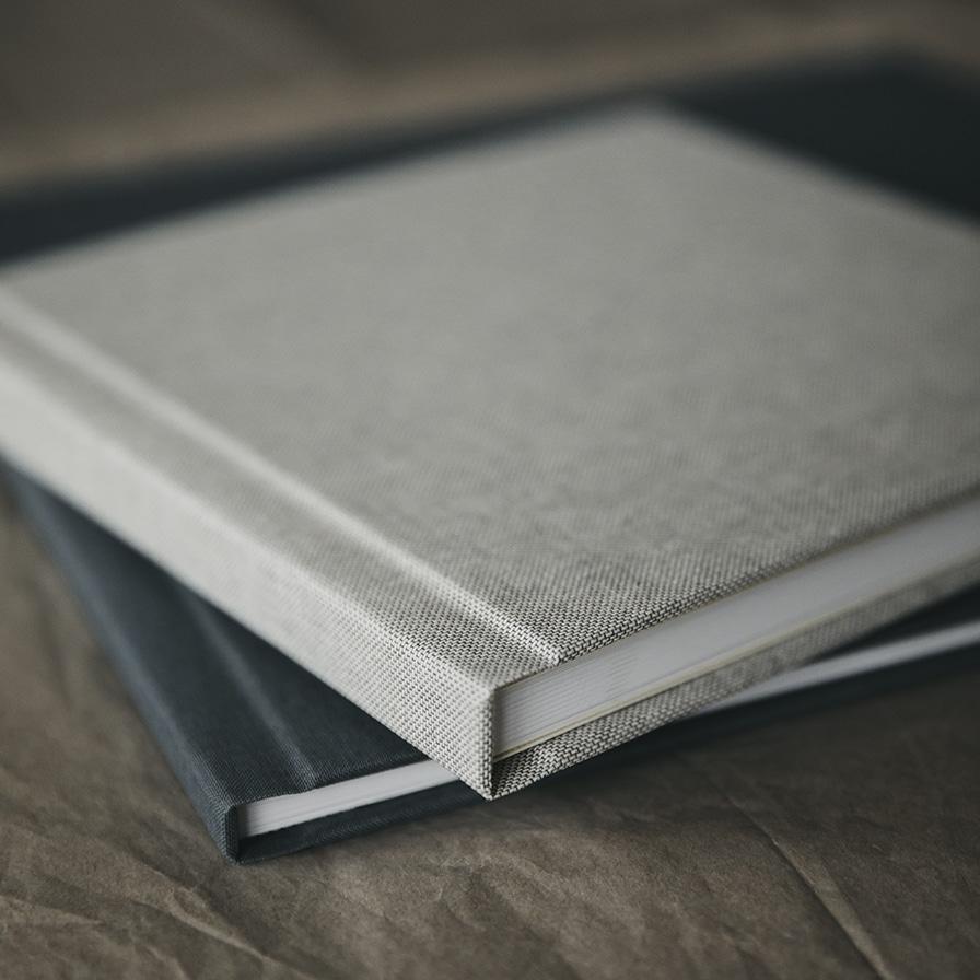 fotobog tekstilomslag tekstilcover