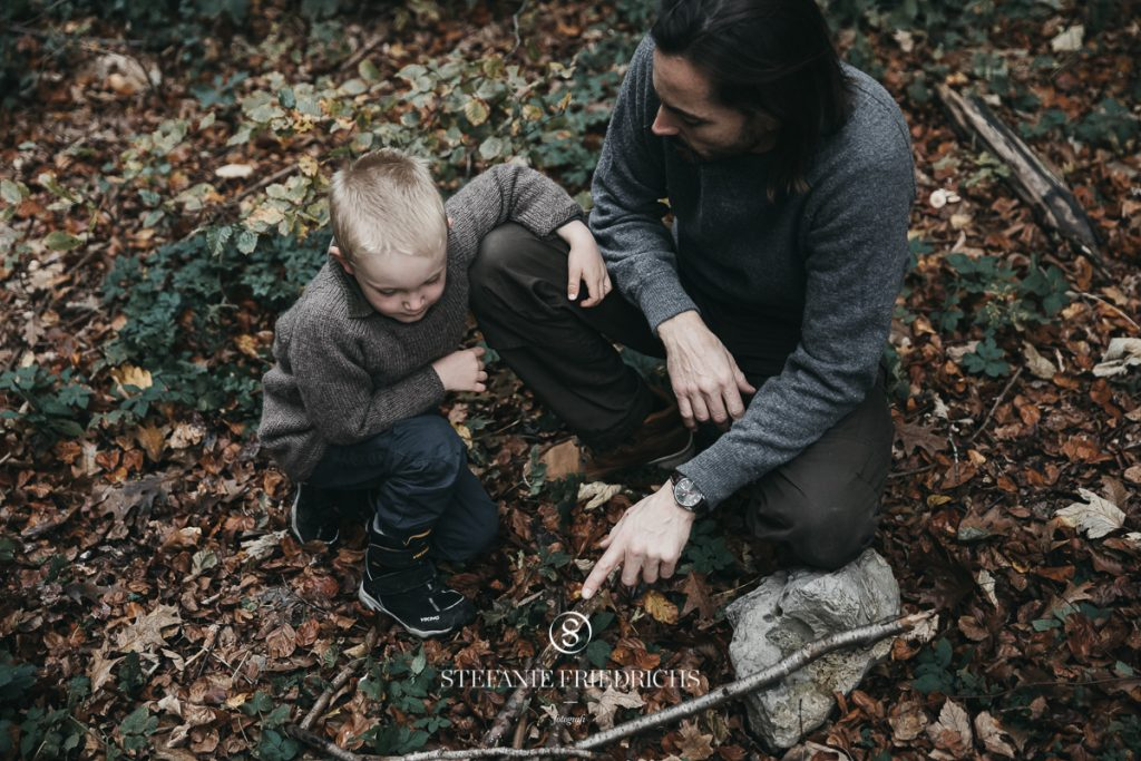 fotograf århus familie udendørs uopstillet