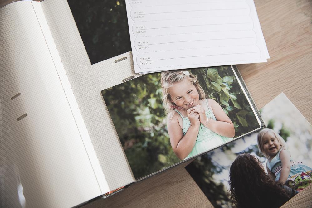 Fotoalbum med lommer