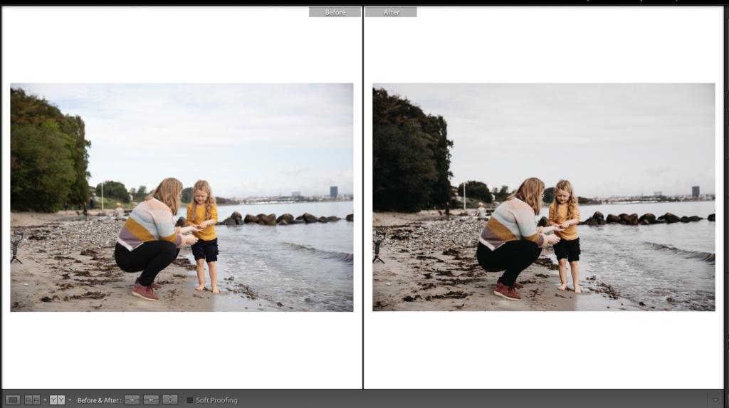 Redigering ag børne og familiebilleder