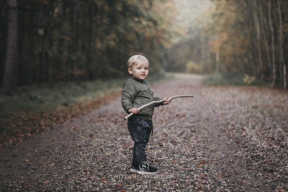 børnefoto skoven